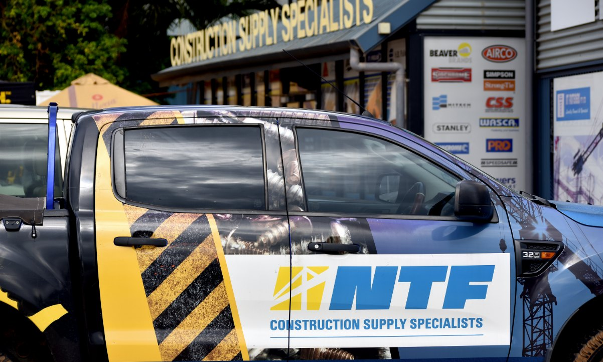 NTF Vehicle with signage